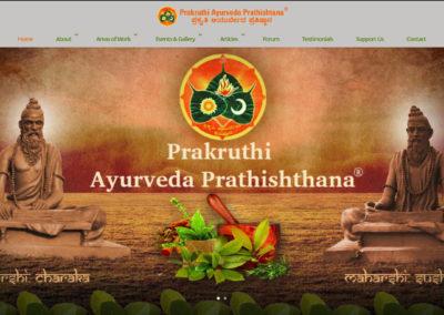 Prakruthi Ayurveda Prathishtana